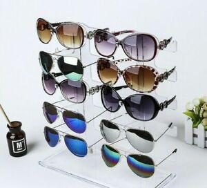 10brillen brillenhalter BRILLENSTÄNDER display STÄNDER brillenregal sonnenbrilh