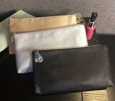 thierry mugler silver makeup bag