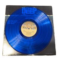 John Barry - The Deep(Original Motion Picture Soundtrack)1977  Blue Vinyl LP VG+