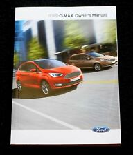 GENUINE FORD C-MAX HANDBOOK OWNERS MANUAL NAVI AUDIO SYNC 2015-2019 BOOK