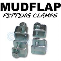 Mudflap Mud Flap Fitting fixing U CLAMPS x 4 - For Toyota -