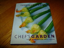 TERENCE CONRAN-CHEF'S GARDEN-SIGNED-HB-VG-1999-RARE
