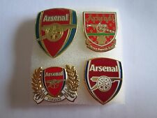 j1 lotto 4 pins lot ARSENAL FC club spilla football calcio badge spille