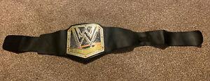 WWE Wrestling WWF Championship Kids Belt 2013 Lights & Sounds Costume