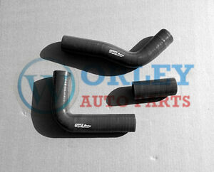 BLACK For Toyota Hilux LN106 LN107 LN111 LN130 2.8 Silicone Radiator Hose kit
