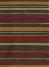 Crypton® Sina Pearson Textile Cabana Stripe Cacao Vibrant Upholstery Fabric