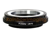 39mm M39 L39 Lens to Sony E-Mount a6500 a6400 a6300 a6000 a5100 a5000 Adapter