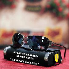 Men Women Khan Designer Cycle Bike Sports Fashion Sunglasses Silver / Black