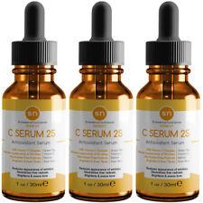 Anti Aging Vitamin C Serum Beauty Source Original C25 Pure Vitamin Serum (3PK)
