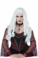 Wig Long White Gothic Witch / Vampira / Sorceress Synthetic Hair Character Wig