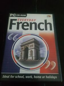 PC CD-ROM EVERYDAY FRENCH