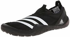 adidas Outdoor Mens Climacool Jawpaw Slip-On Water Shoe, Black/White/Silver 11 M