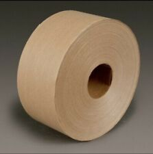 Reinforced 3 Roll Kraft 3m Water Activated Paper Tape 6144 70 Mm X 450 Ft Obo