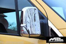 Carcasas retrovisores cromadas Mercedes Sprinter W906 tapas