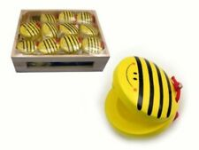 Wooden Kids Musical Toy Percussion Castanet Bee Design