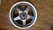 $150 18'' car rims RS5 lenso fit 4*100 and 8 bolt patterns