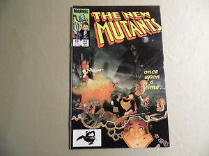 New Mutants #22 (Marvel 1984) Free Domestic Shipping
