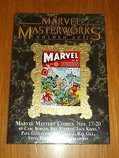 MARVEL MASTERWORKS GOLDEN AGE MARVEL COMICS VOL 149 MYSTERY #17-20 HB GN
