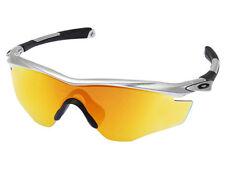 57056cbad2 Oakley M2 Frame Sunglasses OO9212-04 Silver Fire Iridium