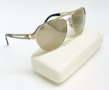 Stylish Versace MOD.2165 1252/5A Gold Mirrored Aviator Men Sunglasses UA4-2/11