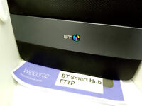 BT Smart Hub 6 FTTP / FTTH Full Fibre To The Premises / Home Wireless Router