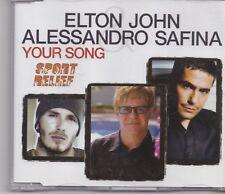 Elton John&Alessandro Safina-Your Song cd maxi single