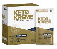 Pruvit Keto Sweet Kreme 5,10 & 20 Packets Flavor Dietary Supplement Exp: 07/2022