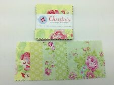"40 5"" Fabric Quilting Squares Charm Pack Tanya Whelan Garden"