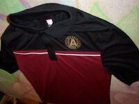 MLS Atlanta United FC Red/Black Polo Jersey size M (C39)