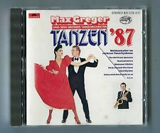 Max Greger cd TANZEN '87 West Germany 12-track Polydor 831 079-2 early Print