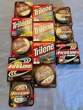 New listing Lot of (12) Berkley Fishing Line, Multiple weight, New in Box