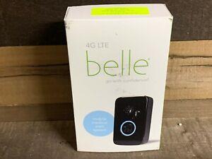 Belle 4G LTE Mobile Medical Alert System AT&T Black NEW Open Box