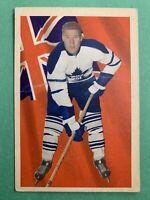 1963-64 Parkhurst Base Card #76 Tim Horton Toronto Maple Leafs Original Card
