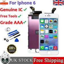 For iphone 6 A1586 A1589 LCD Touch Screen Digitizer Assembly White ✅ Genuine IC