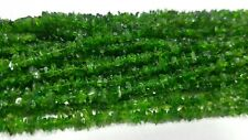 AAA+++ Natrual Chrome Diopside Uncut Chips Raw 36 inch Long Beads Gemstone
