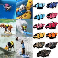 Dog Life Jacket with Handle Adjustable Reflective Pet Swimming Water Life Vest