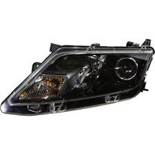 Halogen Headlight For 2010-2012 Ford Fusion Left Black Interior w/ Bulb CAPA