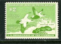 US Stamps # RW24 $2 Duck XF OG NH Fresh Scott Value $85.00
