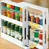 Multi-function Rotating Storage Rack Shelf Kitchen Cabinet Spice Organizer