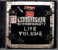 CORROSION OF CONFORMITY live volume CD 2001 Metal-Is Records MISCD013
