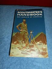 1961 BOY SCOUTS OF AMERICA SCOUT MASTERS HANDBOOK WITH 1ST CLASS SCORECARD