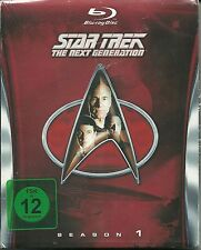 Star Trek Next Generation Season 1 Blu-Ray NEU OVP Sealed Deutsche Ausgabe