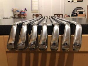 Honma TW747 Vx Golf Iron Set / 4 - 10 / Pro Modus Stiff Flex / New Grip/ Superb