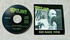 "CD AUDIO MUSIQUE / SAPULAND ""RED RAIDE WINE"" CD SINGLE PROMO 2 TRACKS 2001"