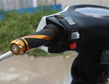 Coppia manopole Moto scooter quad arancione