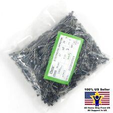 1000pcs 47uF 16V 5x11mm Radial Electrolytic Capacitors US Seller CAP0084-1000