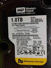Western Digital 1 TB WD1002FBYS-02A6B0 DCM:HANNHT2CB 15NOV2009   disco rigido
