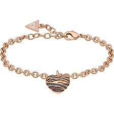 Guess Wrapped With Love Heart Bracelet Woman Ubb21597-S