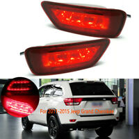 Reflector LED Rear Bumper Light Lamp For Jeep Grand Cherokee 2011 12 13 14-2018