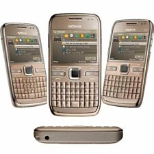 Nokia E72 Unlocked Original 3G Bluetooth MP3 GOLD GPS WIFI 5MP Bar Mobile Phone